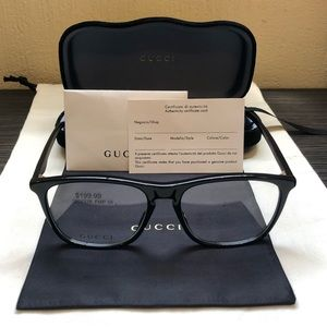 Gucci Non-Prescription Designer Glasses (GG0332O)